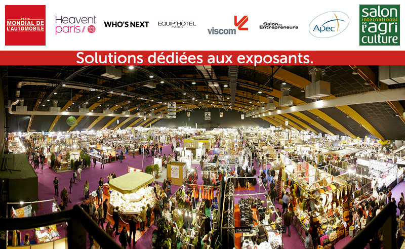 Solution tactile interactive exposants salons foires