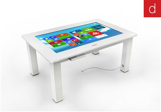 Digilor mobilier interactif tactile multitouch