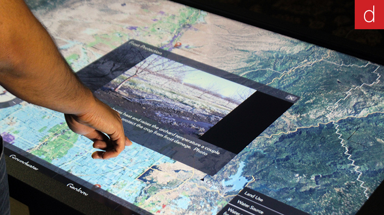 Digilor bilan 2013 table interactive tactile multitouch