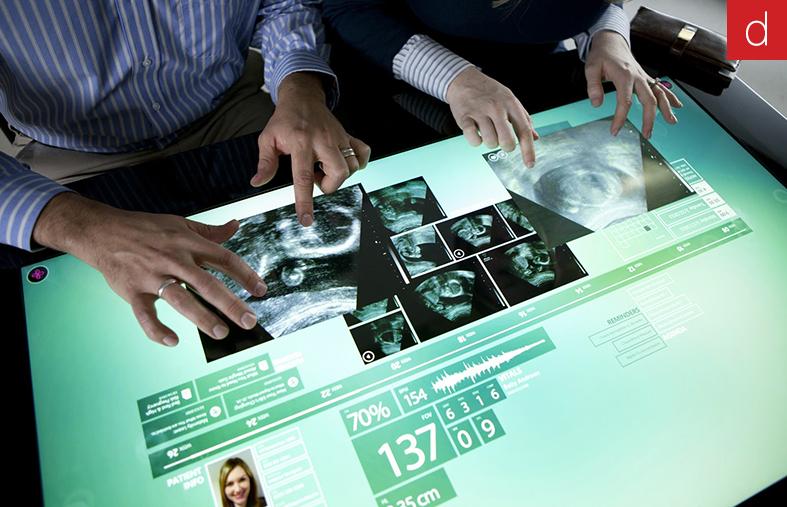 Digilor technologies tactiles secteur médical hopital numérique