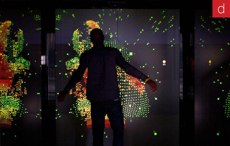 Etude de cas marketing tactile multitouch digital instore Nike flagship