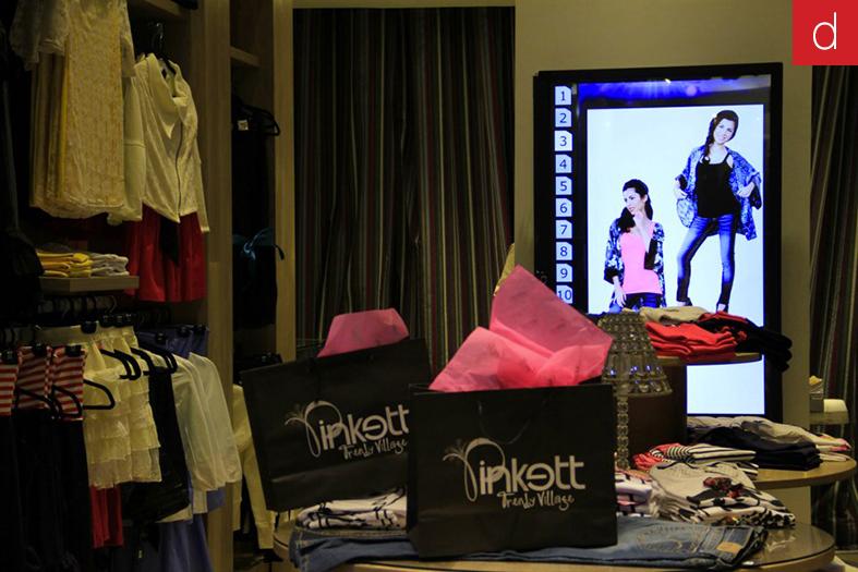Etude de cas marketing multitouch digilor topshop Kinect