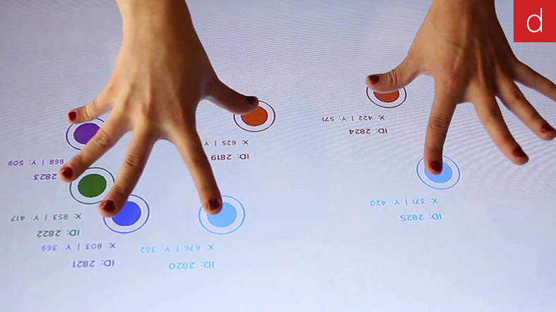 Digilor logiciel création application tactile interactive multitouch cloud