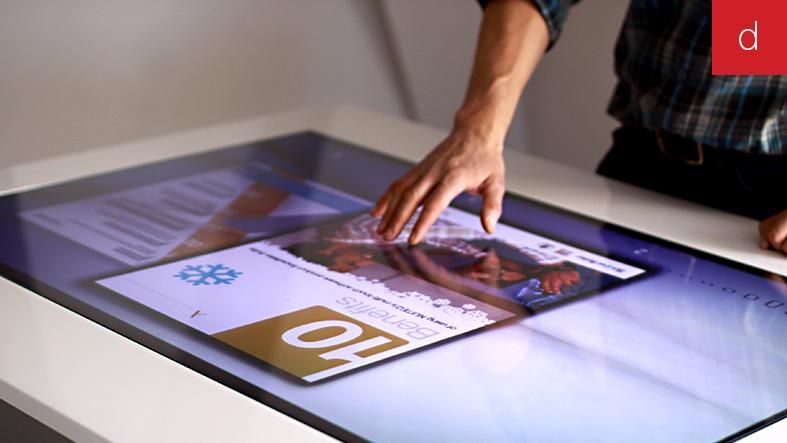 E-commerce web to store tendance marketing digital interactif