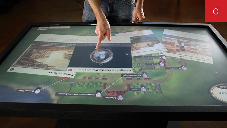Transition numérique digital borne tactile interactive
