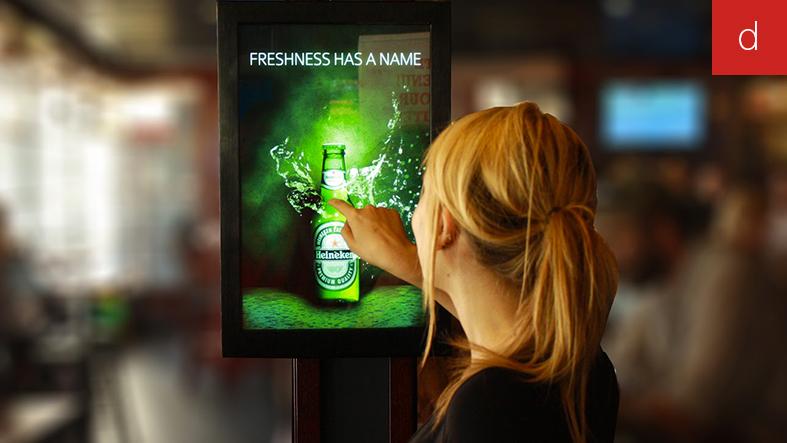 Magasin du futur animation commerciale totem interactif
