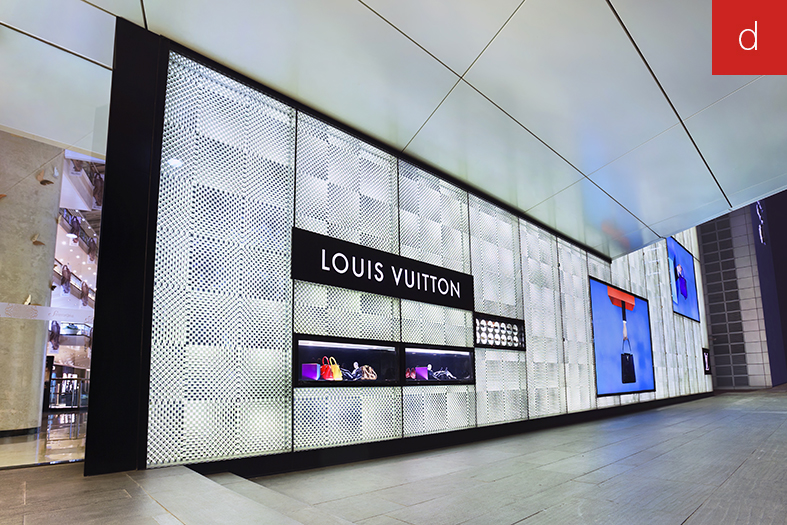 PLV retail digitalisation magasin concept store