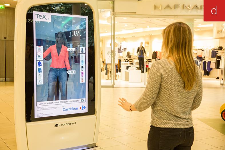 cabine essayage virtuel la redoute La cabine d'essayage virtuelle de mode-in-motion (2) maquillageessayage virtuel vetement essayage virtuel de lunettes essayage virtuel la redoute.