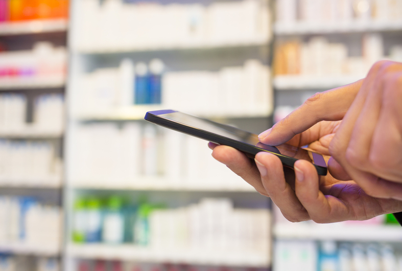Innovation digitale interactive en pharmacie