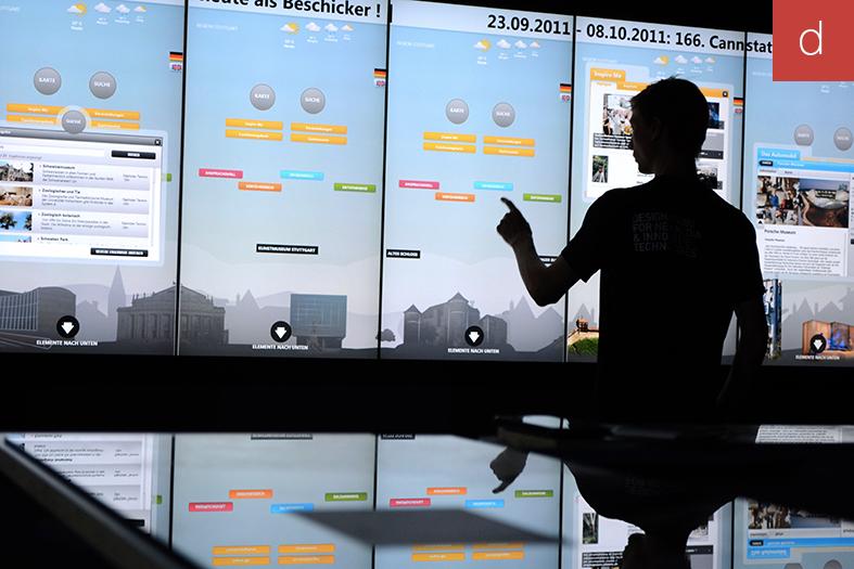 Parcours client digital marketing interactif point de vente