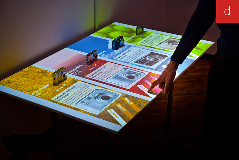 Bornes interactives en magasin expérience digitale client