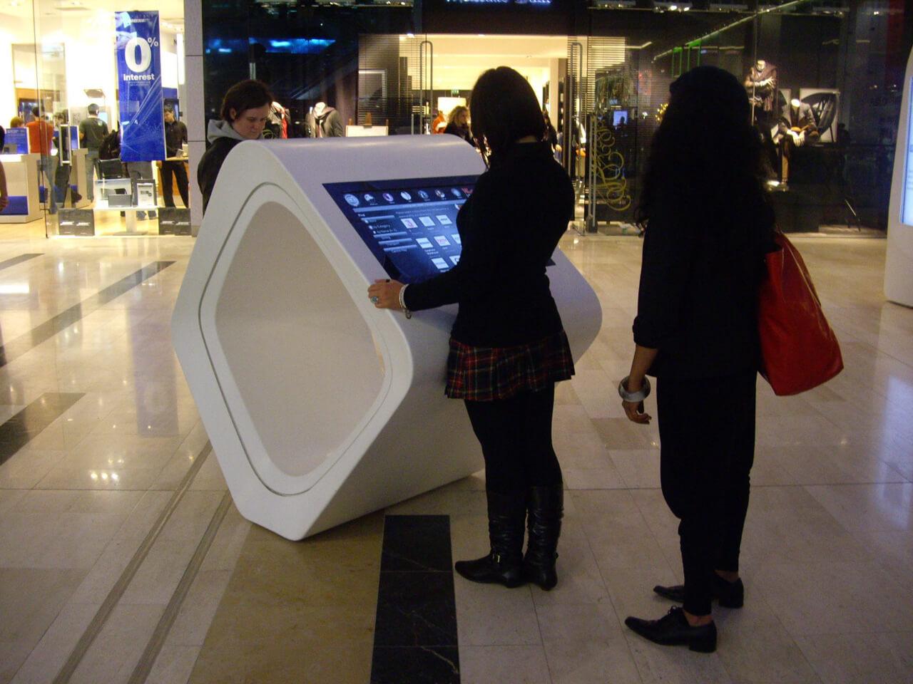 Commerce numérique nouvelle génération tactile