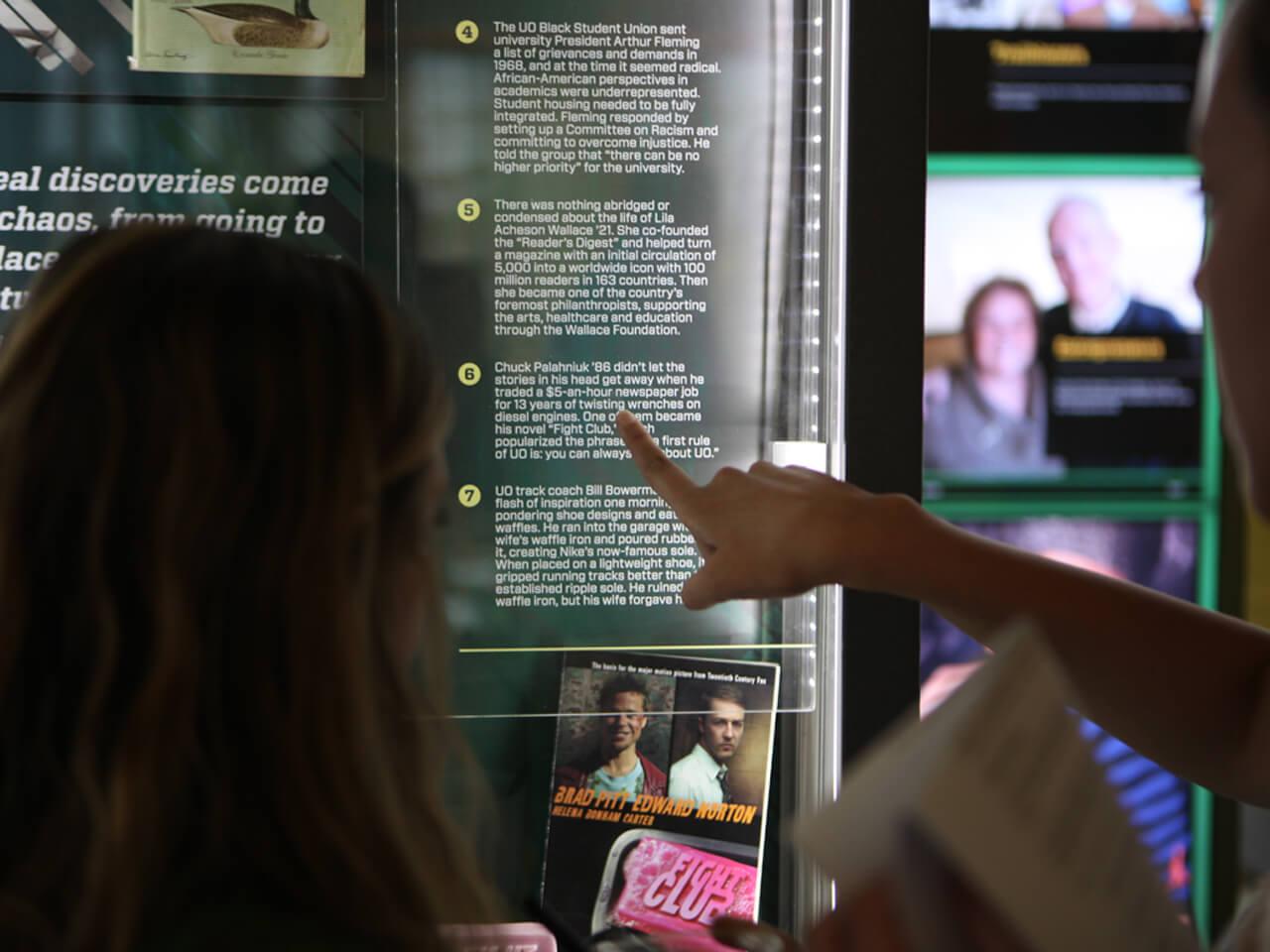 Borne interactive tactile tourisme