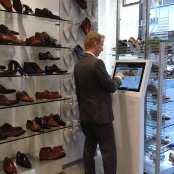 Borne interactive 19 pouces retail XS magasin