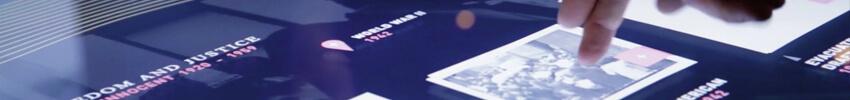 application multi-utilisateurs sur borne interactive 22 pouces