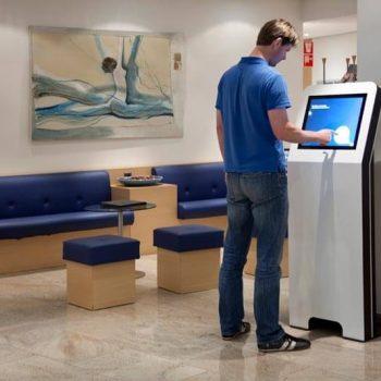 Borne interactive 22 pouces retail S cabinet