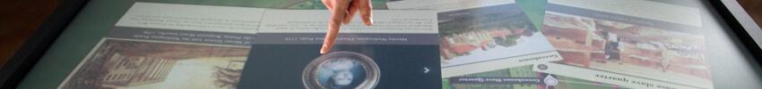 cartographie tactile sur borne interactive duplex