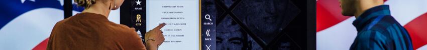 museographie digitale sur borne interactive duplex