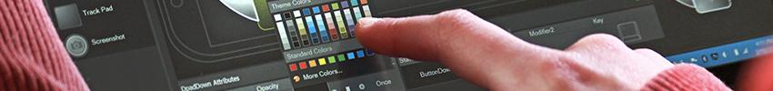 Borne interactive LOTUS application design