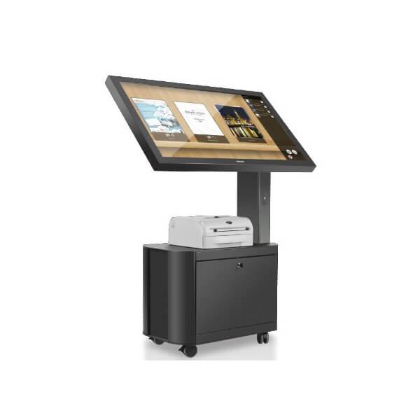 borne interactive philips avec une imprimante