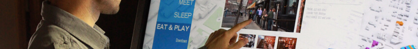 borne interactive philips avec imprimante