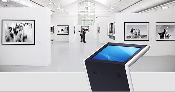 Borne tactile 19 pouces Z-impact musée