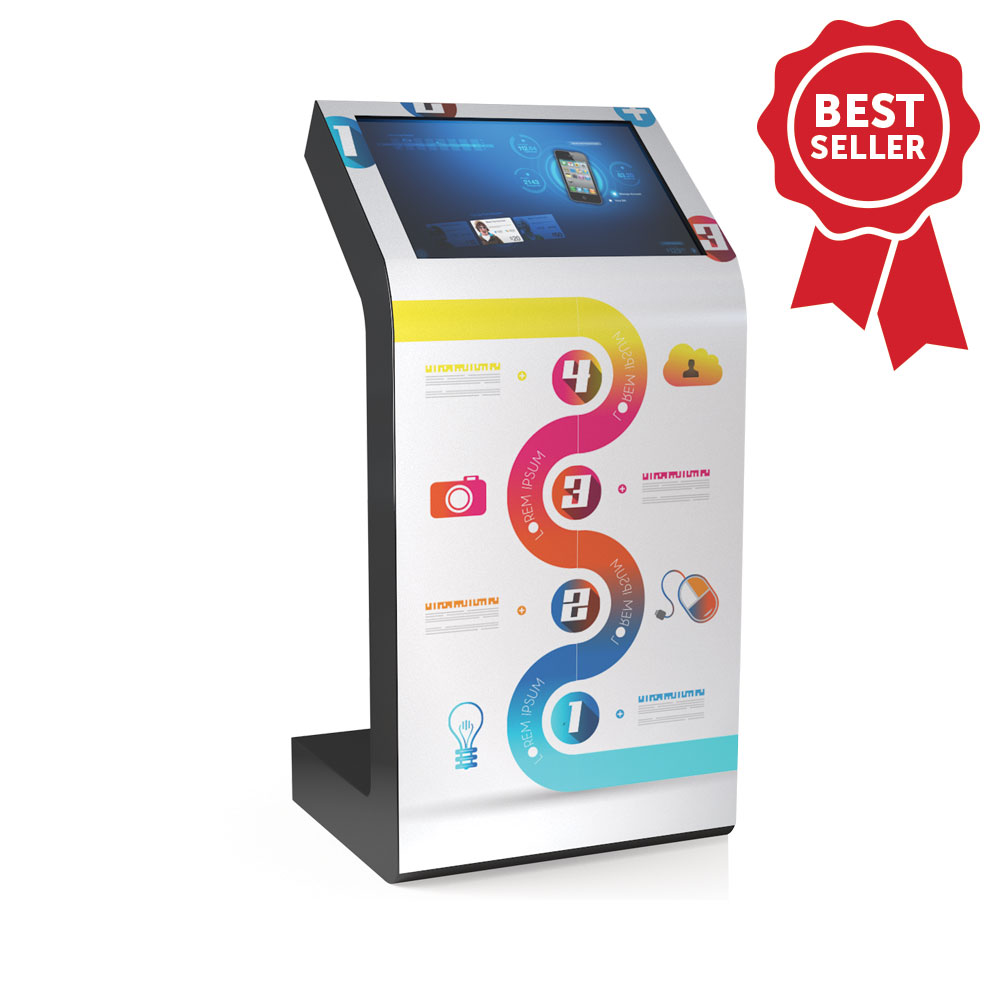 Borne tactile 22 pouces Kiosk S Best Seller