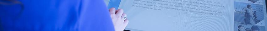 développement d'application mobile sur borne tactile android 19 pouces