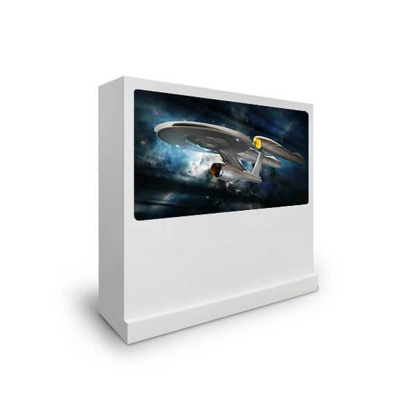 Borne tactile multitouch avec écran interactif 65 pouces