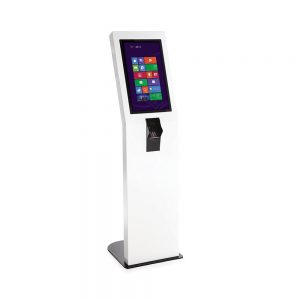 Borne tactile portrait Point & Click multitouch