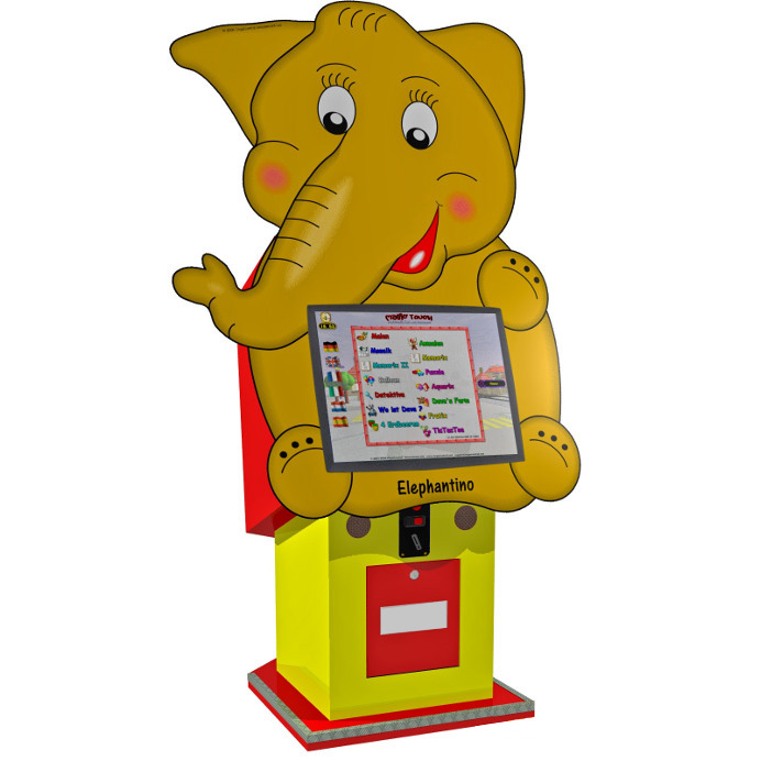 Borne tactile pour enfants éléphant