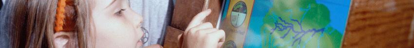 jeux ludiques sur borne tactile pour enfants