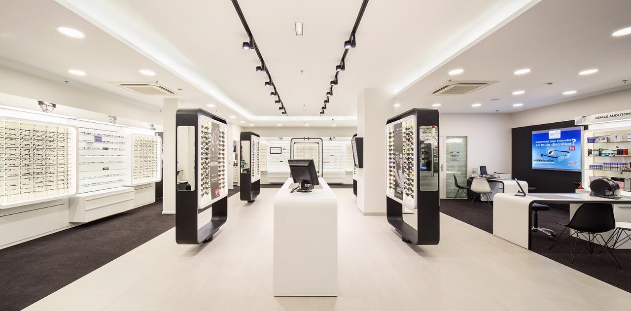 Optique magasin connecté phygital