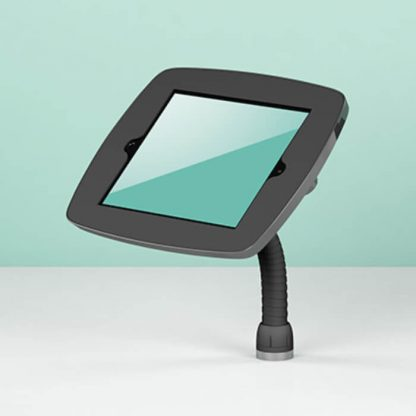 Support borne tablette iPad comptoir iDesk