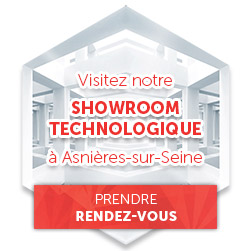 showroom technologique table interactive
