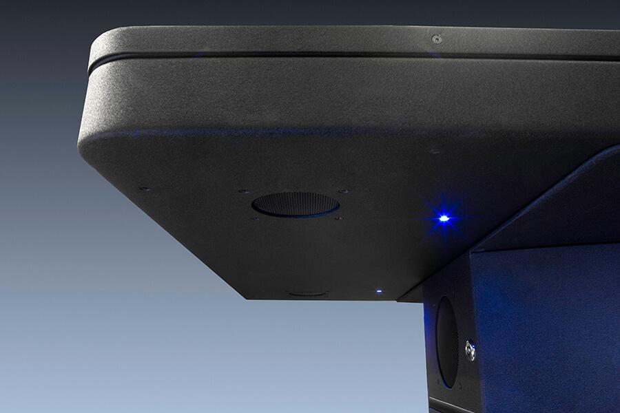 son stereo sur table interactive 55 pouces