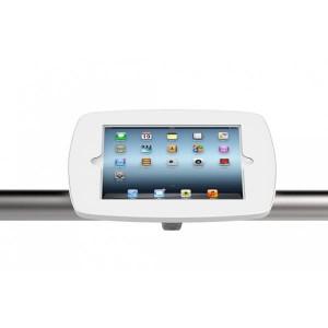 support iPad avec système fixation sur rail