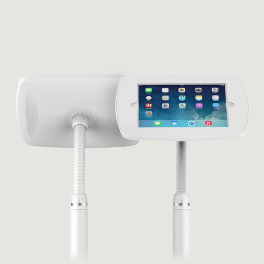 Support iPad sur pied interaction