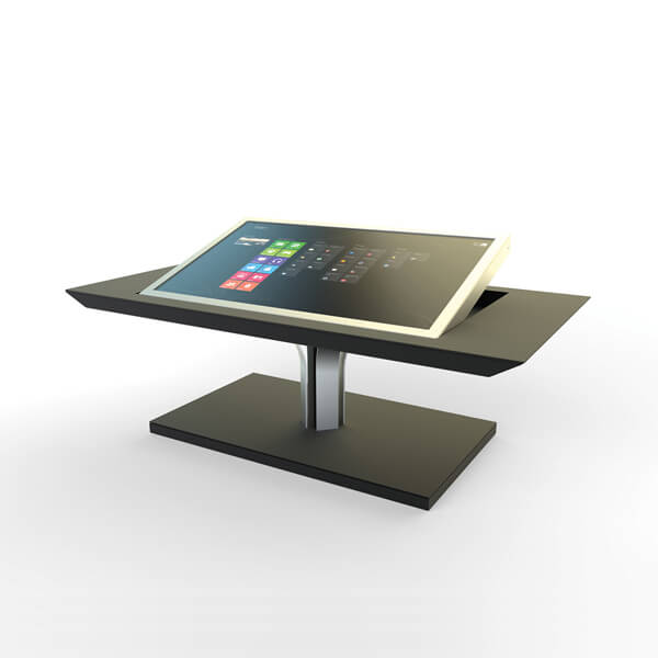 Table basse interactive design luxe