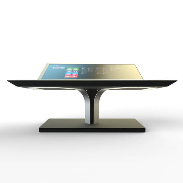 Table basse interactive deisgn inclinable