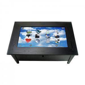 Table basse tactile en bois 42 pouces iWOOD