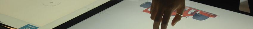 table interactive 55 pouces ideum