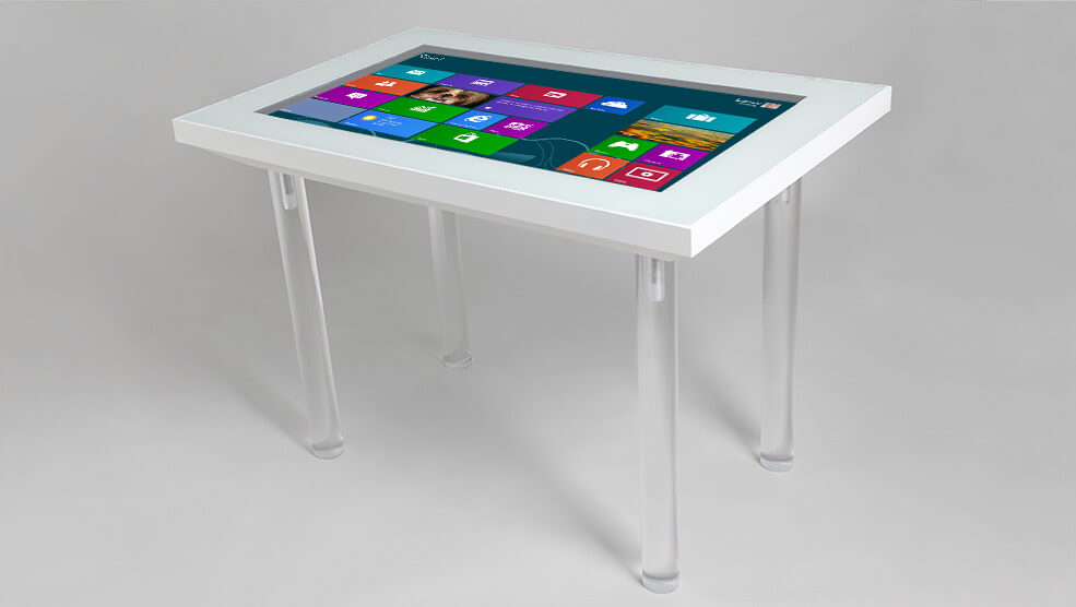 Table interactive capacitif projeté K2 haute définition