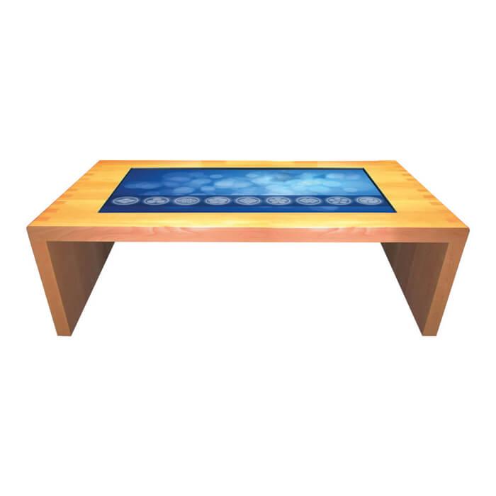 Table tactile en bois iNATURA