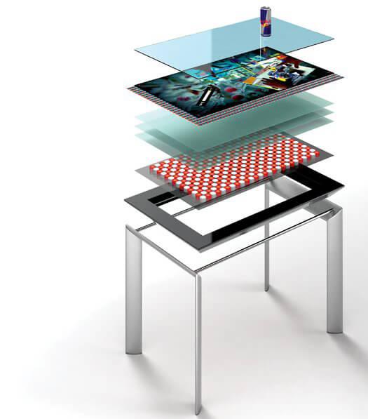 assemblage des composants sur Table tactile Microsoft Surface 40 pouces