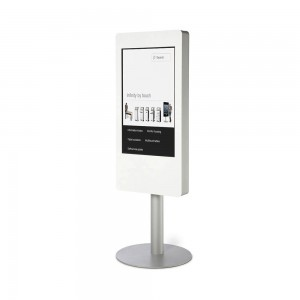 totem interactif 40 pouces multitouch tactile