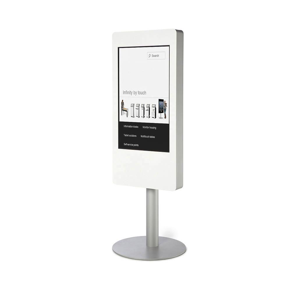 totem interactif 40 pouces multitouch tactile