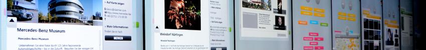 digitalisation du point de vente avec un totem tactile 55 pouces