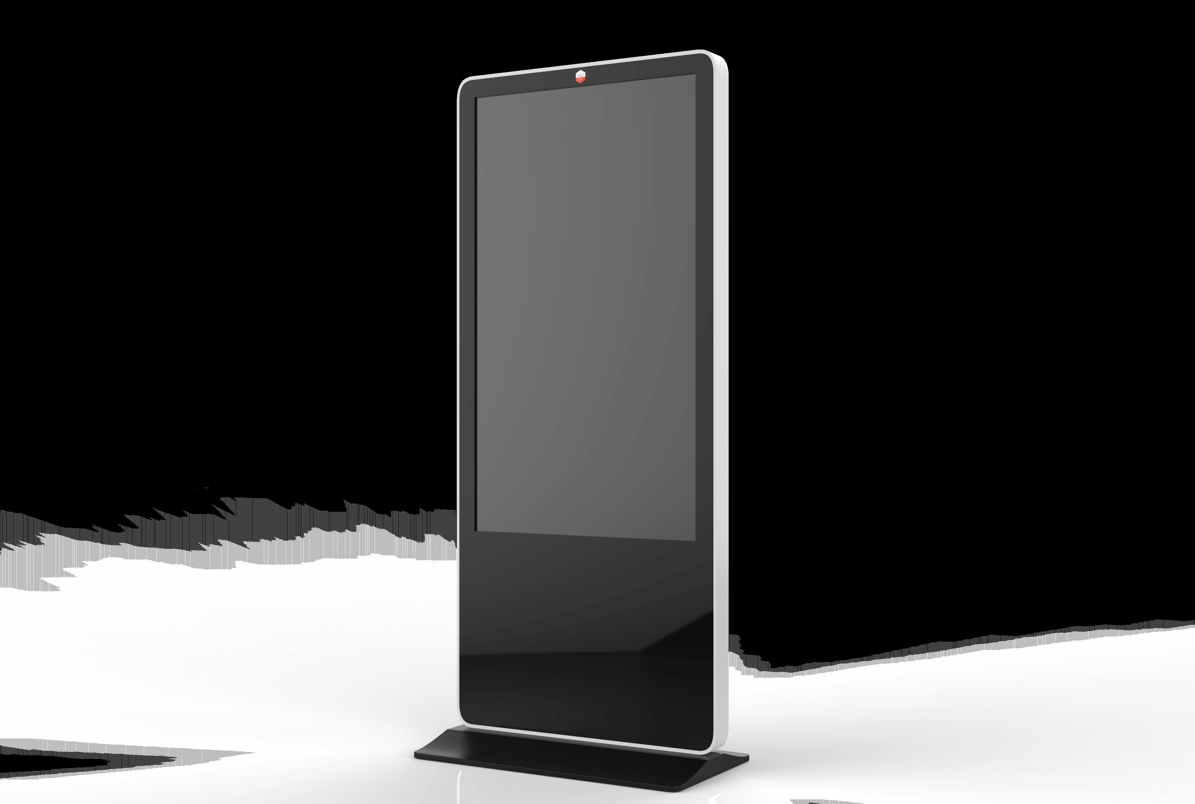 Totem tactile 55 pouces vertical 3D