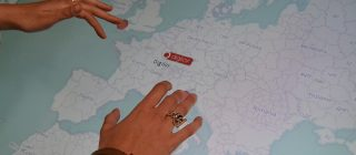 Application tactile iMaps
